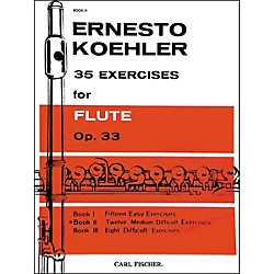 Carl Fischer 35 Exercises For Flute (O1557)