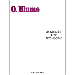 Carl Fischer 36 Studies for Trombone (O4948)