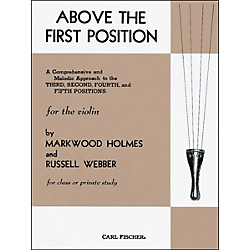 Carl Fischer Above The First Position Book (O3807)
