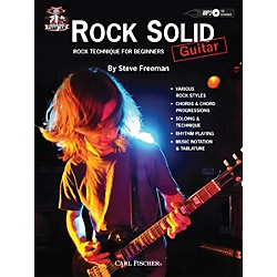 Carl Fischer Camp Jam: Rock Solid for Guitar Book/CD (CF00003)
