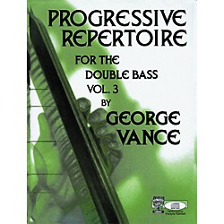 Carl Fischer Carl Fischer Progressive Repertoire For The Double Bass Vol. Three (O5429)
