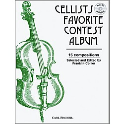 Carl Fischer Cellists Favorite Contest Album Book (O3220)