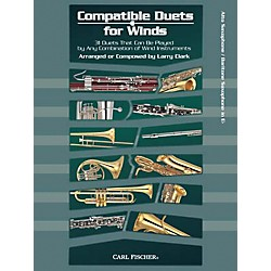 Carl Fischer Compatible Duets for Winds: Alto Saxophone/Baritone Saxophone Book (WF95)