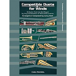 Carl Fischer Compatible Duets for Winds: Trombone/Euphonium B.C./Bassoon Book (WF96)