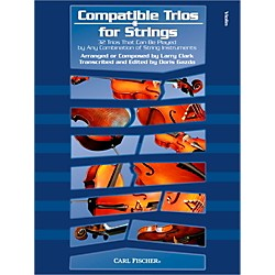 Carl Fischer Compatible Trios for Strings - Violin (Book) (BF83)