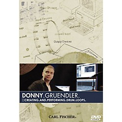 Carl Fischer Creating and Performing Drum Loops DVD (DVD24)