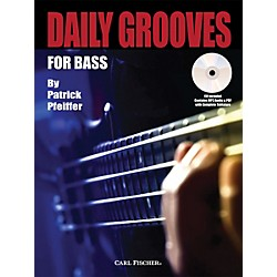 Carl Fischer Daily Grooves for Bass Book/CD (GT214)