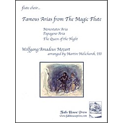 Carl Fischer Famous Arias from the Magic Flute Book (FC-MM4)