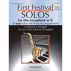 Carl Fischer First Festival Solos for Alto Saxophone (20 Easy Solos with Piano Accompaniments) (WF122)