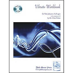 Carl Fischer Flute Vibrato Workbook With CD (B-P4)