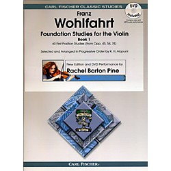 Carl Fischer Foundation Studies for Violin Book 1 (Book + DVD) (O2465X)