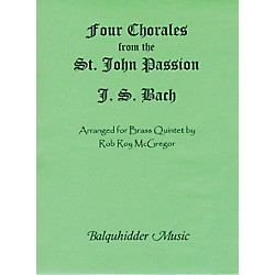 Carl Fischer Four Chorales from St. Johns Passion Book (BQ4)