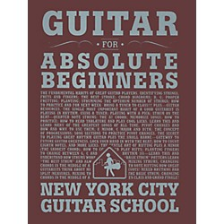 Carl Fischer Guitar For Absolute Beginners (Book) New York City Guitar School (NYC1)