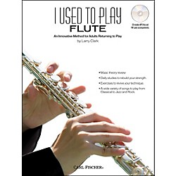 Carl Fischer I Used To Play Flute Book/CD (WF89)