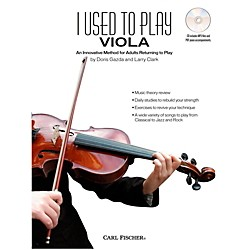 Carl Fischer I Used to Play Viola (Book + CD) (BF82)