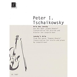 Carl Fischer Lensky's Aria (Book + Sheet Music) (UE007687)