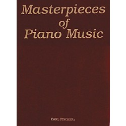 Carl Fischer Masterpieces Of Piano Music (O3619)