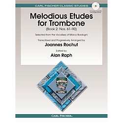 Carl Fischer Melodious Etudes for Trombone, Vol. 2 (O1595X)