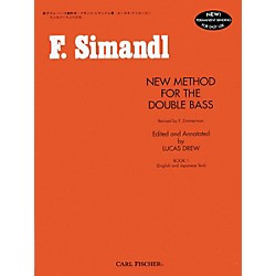 Carl Fischer New Method For The Double Bass Book (O492)