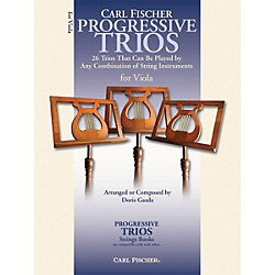 Carl Fischer Progressive Trios for Strings - Viola Book (BF63)