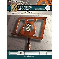 Carl Fischer Repertoire Classics for Flute (Book/ Data MP3 CD) (WF110)
