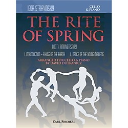 Carl Fischer Rite of Spring - Mvts. I & II for Cello & Piano (Book + Sheet Music) (B3448)
