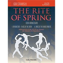 Carl Fischer Rite of Spring - Mvts. I & II for Flute & Piano (Book + Sheet Music) (W2655)