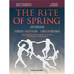 Carl Fischer Rite of Spring - Mvts. I & II for Violin & Piano (Book + Sheet Music) (B3447)