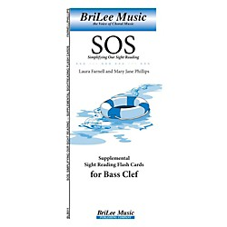 Carl Fischer Simplifying Our Sight Reading Supplemental Sight Reading Flash Cards for Bass Clef (BLB011)