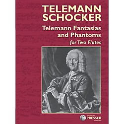 Carl Fischer Telemann Fantasias and Phantoms Book (414-41201)