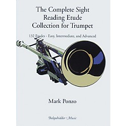 Carl Fischer The Complete Sight Reading Etude Collection for Trumpet Book (BQ90)