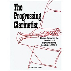 Carl Fischer The Progressing Clarinetist (O4766)