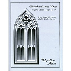 Carl Fischer Three Renaissance Motets Book (BQ12)