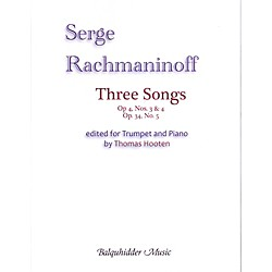 Carl Fischer Three Songs Book (BQ133)
