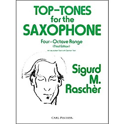 Carl Fischer Top-Tones For The Saxophone (O2964)