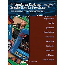 Carl Fischer Vandoren Etude & Exercise Book for Saxophone: The Secrets of Ten Master Saxophonists (Book) (WF87)
