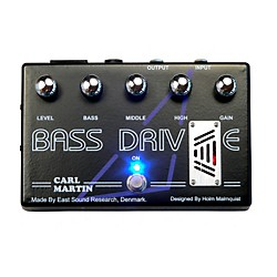 Carl Martin Bass Drive Tube Pre Amp Bass Effects Pedal (USED004000 BASS DRIVE)