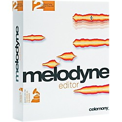 Celemony Melodyne Editor 2 Upgrade From Discontinued Melodyne Plugin or Uno (1035-158)
