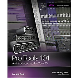 Cengage Learning Pro Tools 101 Official Courseqare Ver 10 Book / CD (1133776558)