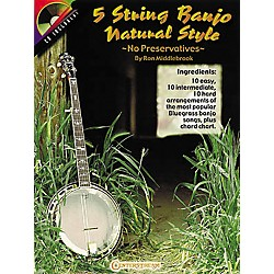 Centerstream Publishing 5 String Banjo Natural Style Book/CD (284)