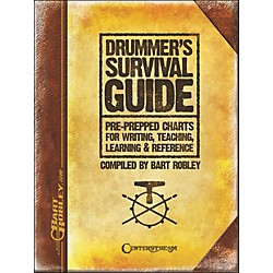 Centerstream Publishing Drummer's Survival Guide: Pre-Prepped Charts For Writing, Teaching, Learning, And Reference (1331)