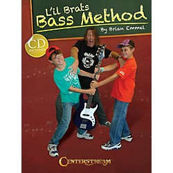 Centerstream Publishing L'Il Brats Bass Method (Book/CD) (1587)