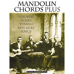 Centerstream Publishing Mandolin Chords Plus Technique Book (40)