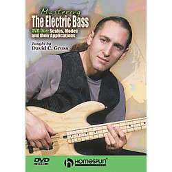 Centerstream Publishing Mastering the Electric Bass: Scales 1 (DVD) (641856)