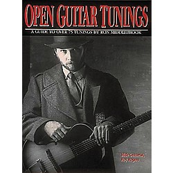 Centerstream Publishing Open Guitar Tunings Book (130)