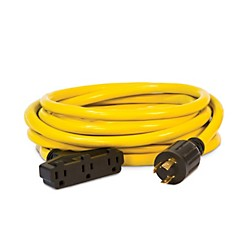 Champion Power Equipment 25 ft. Generator Power Cord 120V (48034)
