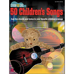 Cherry Lane 50 Children's Songs - Strum & Sing Series (2500825)