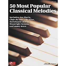 Cherry Lane 50 Most Popular Classical Melodies For Easy Piano (2501401)
