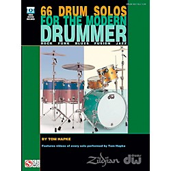 Cherry Lane 66 Drum Solos For The Modern Drummer (Book/DVD) (2501624)