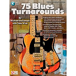 Cherry Lane 75 Blues Turnarounds (2501043)